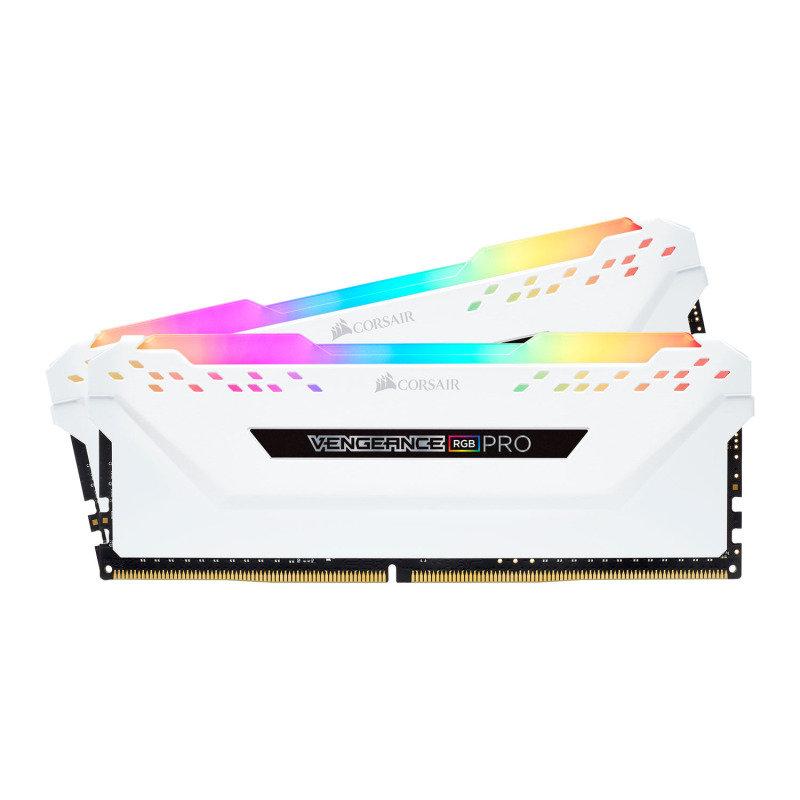 Corsair Vengeance RGB White PRO 16GB (2 x 8GB) DDR4 3200MHz