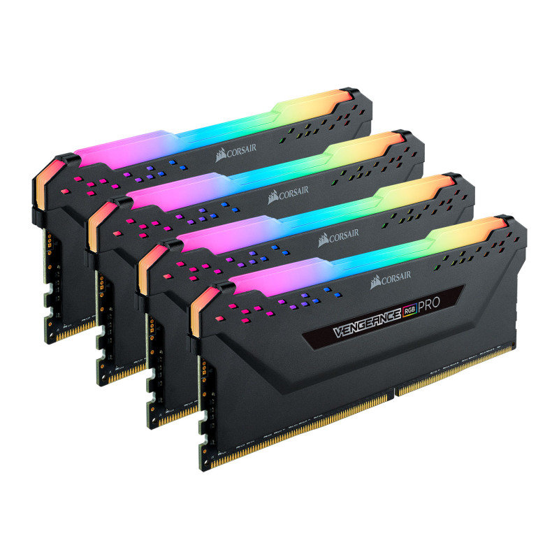 Corsair Vengeance RGB Black PRO 32GB (4 x 8GB) DDR4 3000MHz