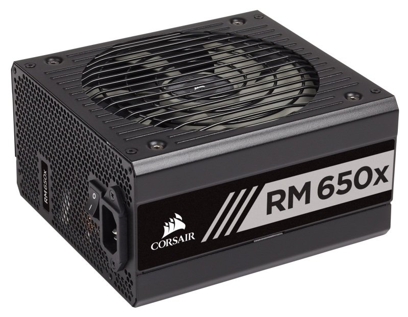 Corsair RMx Series RM650x 80 PLUS Gold Fully Modular ATX PSU