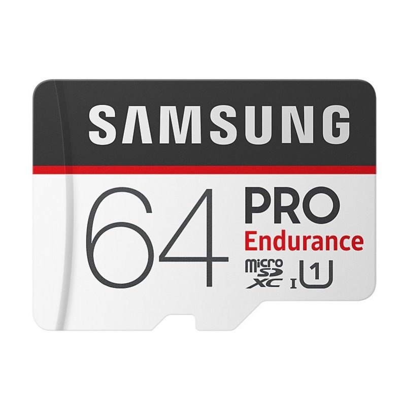 Samsung 64GB PRO Endurance MicroSD Card with Adapter