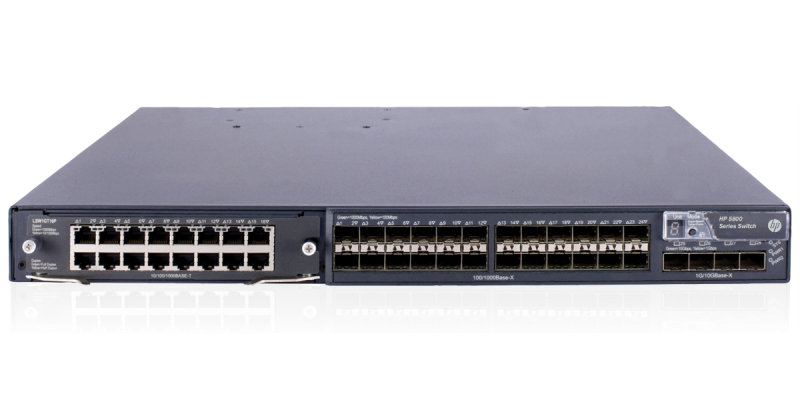 HPE 5800-24G-SFP 24 Port Managed Switch