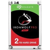 "Seagate IronWolf Pro 2TB NAS Hard Drive 3.5"" SATA III 6GB's 7200RPM 128MB Cache"