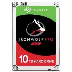 "Seagate IronWolf Pro 10TB NAS Hard Drive 3.5"" SATA III 6GB's 7200RPM 256MB Cache"