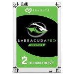 "Seagate BarraCuda Pro 2TB Desktop Hard Drive 3.5"" SATA III 6GB's 7200RPM 128MB Cache"