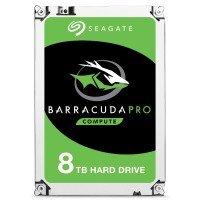 "Seagate BarraCuda Pro 8TB Desktop Hard Drive 3.5"" SATA III 6GB's 7200RPM 256MB Cache"