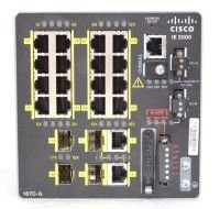 Cisco Industrial Ethernet 2000 Series 20 Port Managed Switch