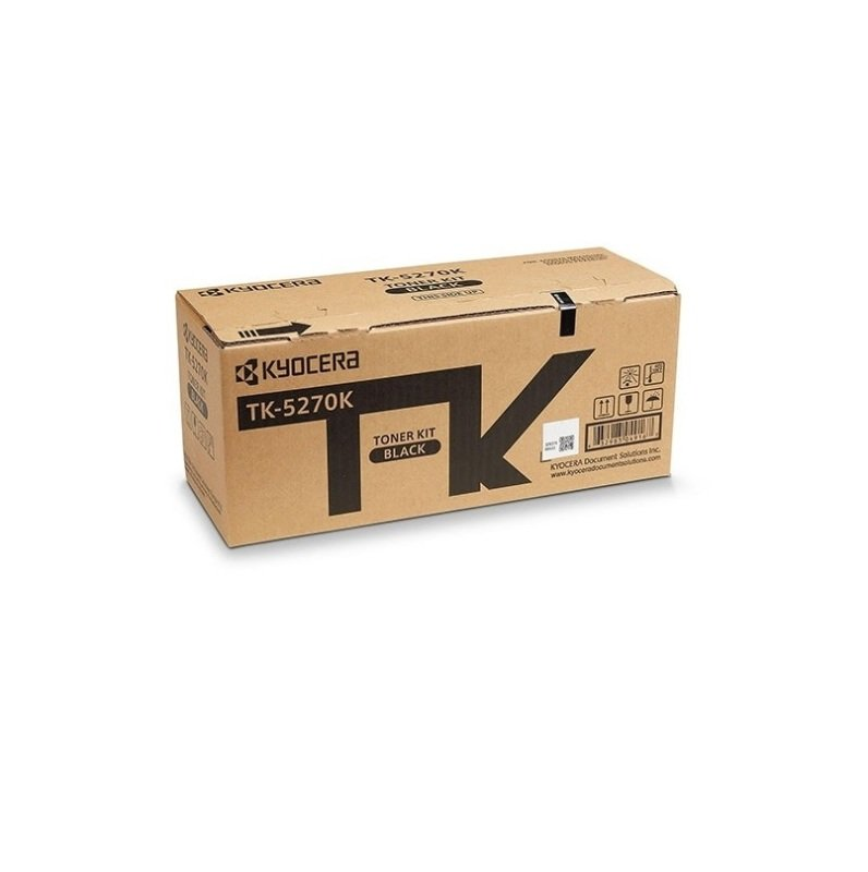 Original Kyocera TK-5270k Black Toner Cartridge