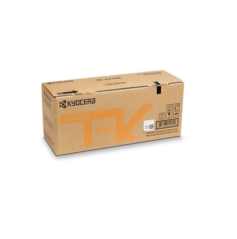 Original Kyocera TK-5270Y Yellow Toner Cartridge