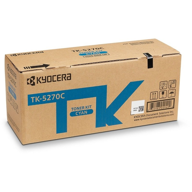 Original Kyocera TK-5270C Cyan Toner Cartridge