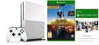 Xbox One S 1TB with 3 Month Xbox Live/Game Pass + PUBG
