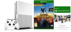 Xbox One S 1TB with 3 Month Xbox Live/Game Pass + PUBG...