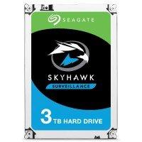 "Seagate SkyHawk 3TB Surveillance Hard Drive 3.5"" SATA III 6GB's 5400RPM 256MB Cache"