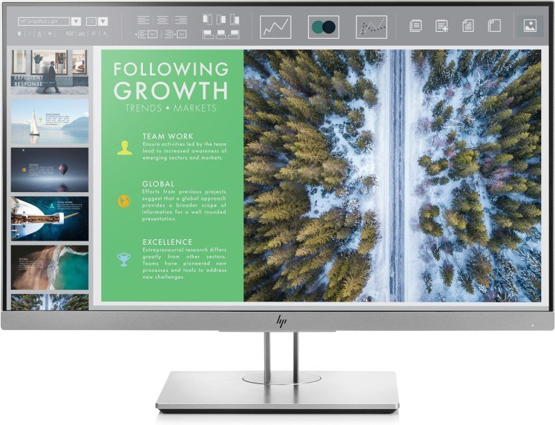 "HP EliteDisplay E243 23.8"" FHD IPS Monitor"