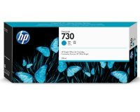 HP  730 Cyan OriginalDesignjet Ink Cartridge - High Yield 300ml - P2V68A