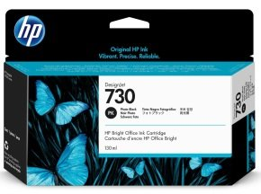 HP 730 Photo Black Ink Cartridge
