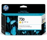 HP 730 Yellow Original Designjet Ink Cartridge - Standard Yield 130ml - P2V64A