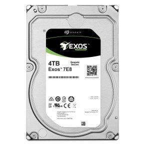 """Seagate Exos 4TB E-Class Nearline Enterprise Hard Drive 3.5"""" SATA III 6GB's 512E"""