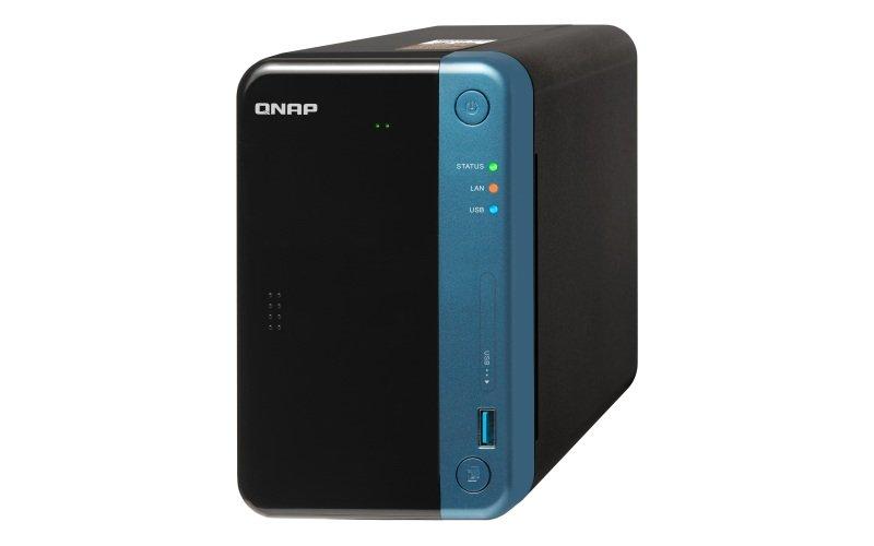 QNAP TS-253Be-4G 2 Bay Desktop NAS Enclosure with 4GB RAM