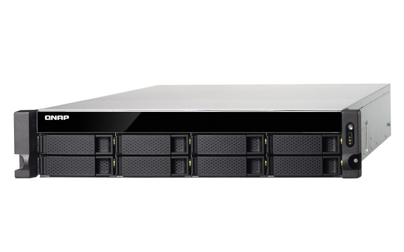 QNAP TS-863XU-4G 8 Bay NAS Rack Enclosure with 4GB RAM