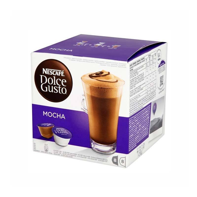 Nescafe Dolce Gusto Mocha 16 Capsules (pack 3)