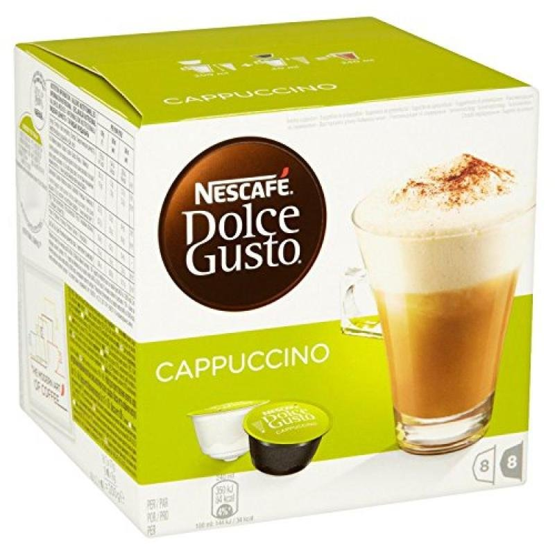 Nescafe Dolce Gusto Cappuccino 16 Capsules (pack 3)