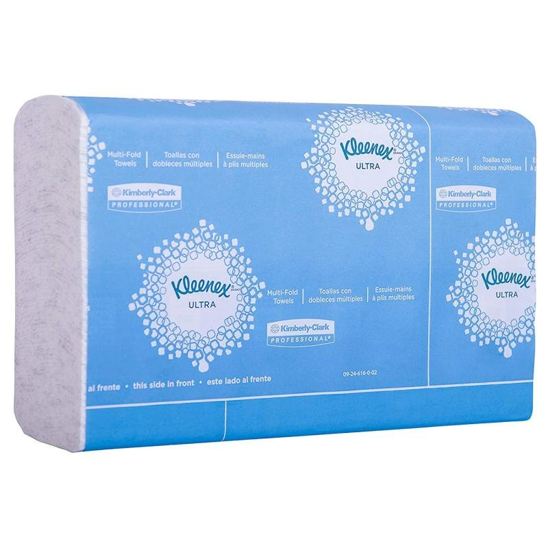 Image of Kleenex Mfold Towel White 150sheets