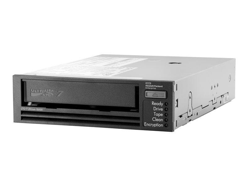 HPE StoreEver LTO-7 Ultrium 15000 SAS Tape Drive in 1U Rackmount Kit/TVlite