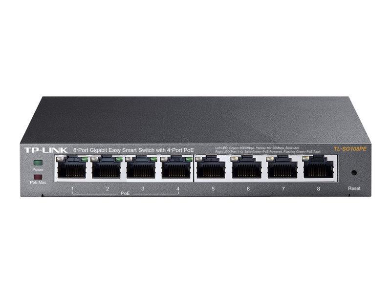 TP-Link Easy Smart TL-SG108PE v2 8 Port Switch