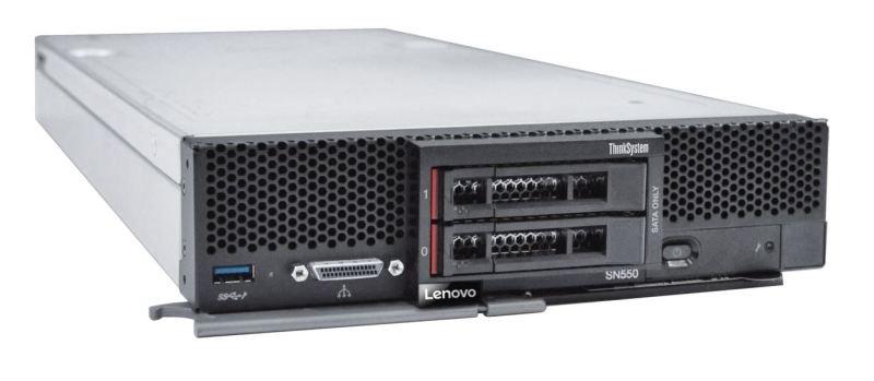 Lenovo ThinkSystem SN550 Xeon Platinum 8160 2.1 GHz 32GB RAM Blade Server