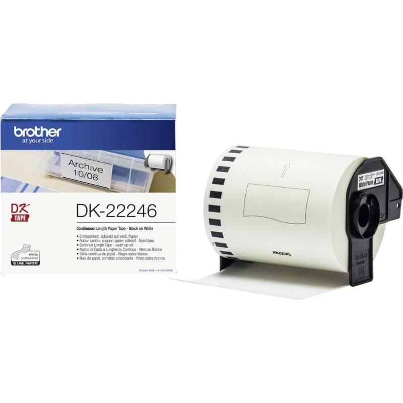 Dk-22246 Continuous Paper - 103.6mm X 30.48m