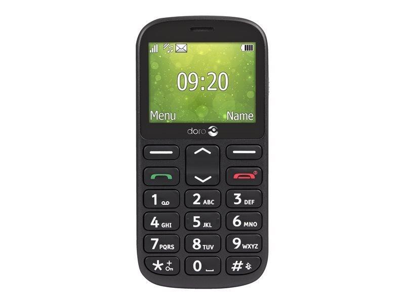 "Doro 1360 2.4"" Dual Sim & Unlocked - Black"