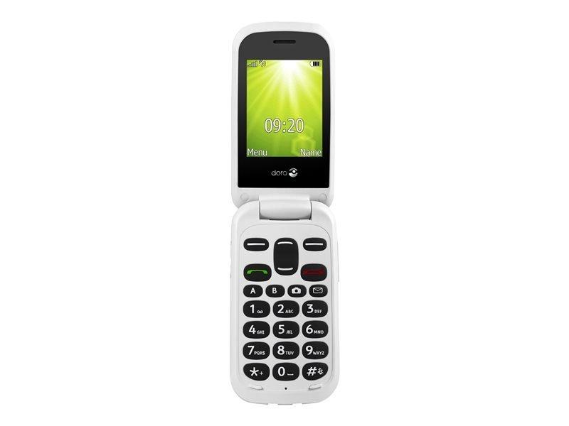 """Doro 2404 2.4"""" Display Dual Sim - Black/White"""