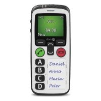 Doro Secure 580 - Mobile Phone - 3g - Gsm - 128 X 160 Pixels - White
