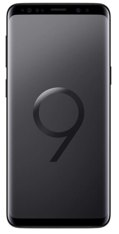Image of Samsung Galaxy S9 4G LTE 64GB Smartphone - Midnight Black
