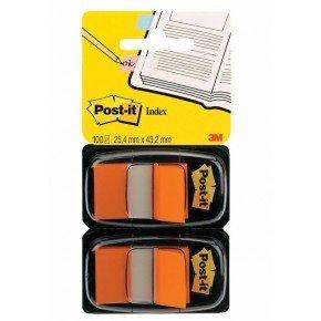 Postit Index Flag Dispenser Orange Pk2