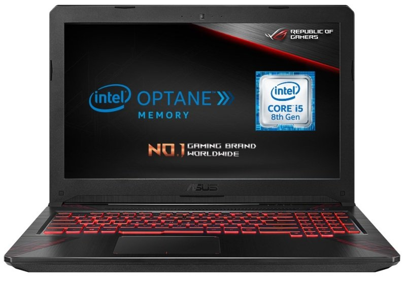 """ASUS Gaming 15 FX504GD-E4603T Intel Core i5, NVIDIA GeForce GTX 1050, 15.6"""", 8GB RAM, 1TB HDD and SSD, Windows 10, Notebook - Black"""