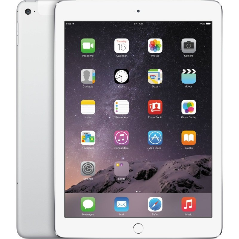 Apple iPad (6th Gen) 9.7 128GB Cellular, A10 Fusion chip 64bit, M10 Coprocessor, 128GB SSD, 9.7 IPS Retina 2048x1536, WIFI, Cellular, 8mp + 1.2mp Camera, Silver cheapest retail price