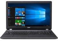 "Acer Aspire ES 15 ES1-523-26EF AMD E1, 15.6"", 4GB RAM, 500GB HDD, Windows 10, Notebook - Black"