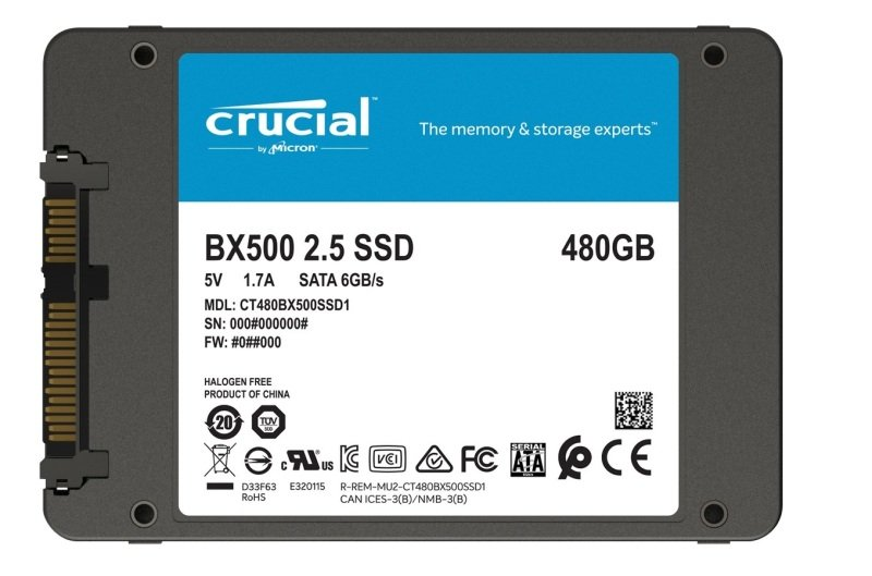 Crucial BX500 480GB SSD