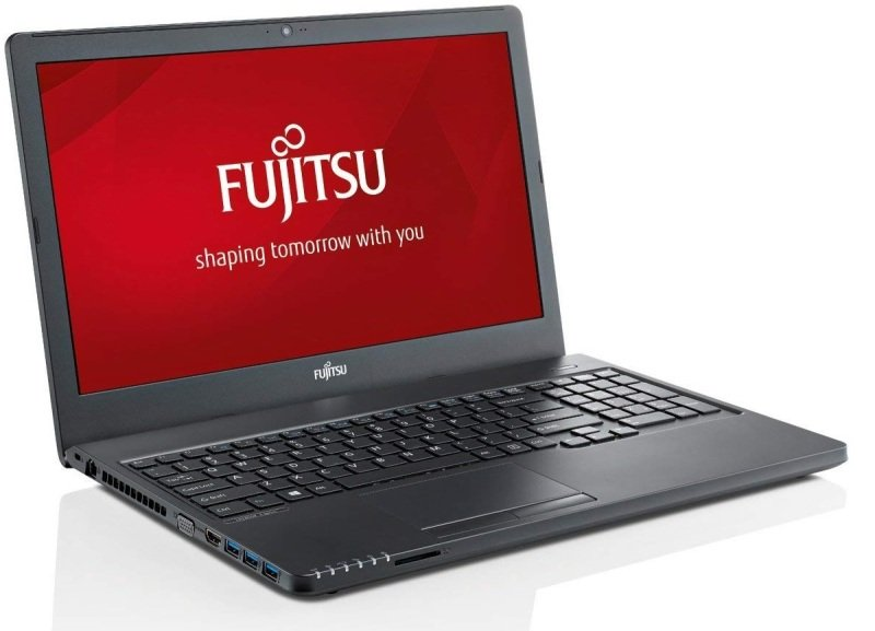 "Fujitsu LIFEBOOK A357 Intel Core i5, 15.6"", 4GB RAM, 500GB HDD, Windows 10, Notebook - Black"