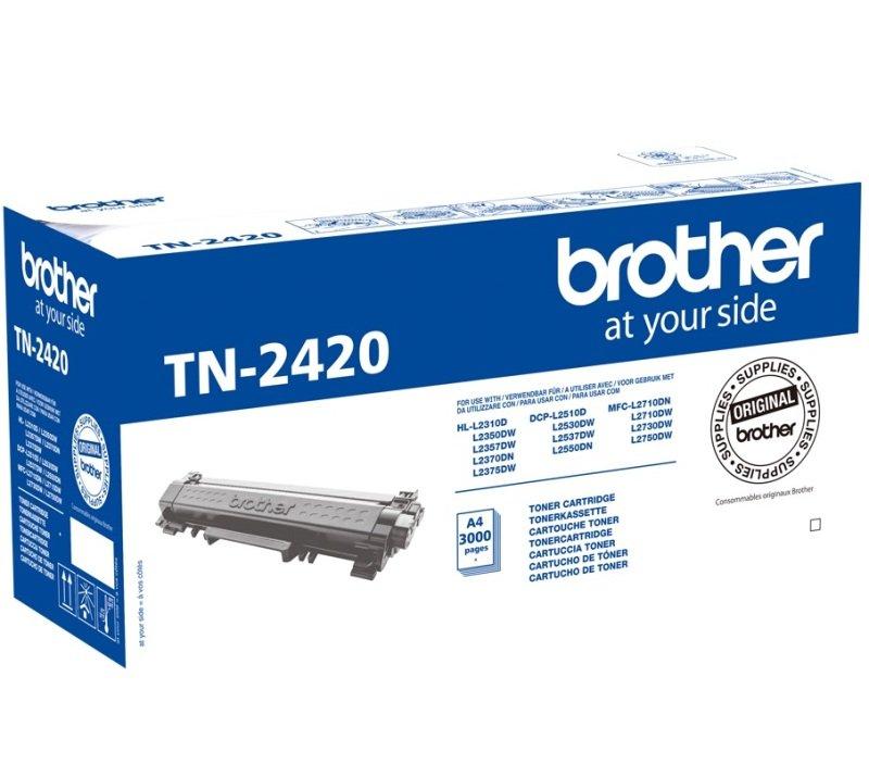 Brother TN2420 High Yield Black Toner Cartridge