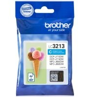 Brother LC3213C Cyan Ink Cartridge