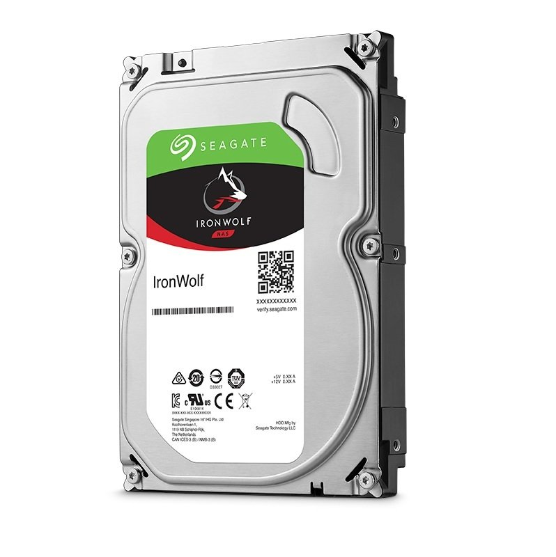 "Seagate IronWolf 2TB NAS Hard Drive 3.5"" SATA III 6GB's 5900RPM 64MB Cache"
