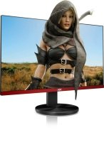 EXDISPLAY Aoc 24.5-inch gaming monitor with FreeSync technology 75Hz refresh rate and 1ms response time