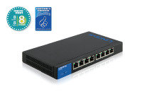 Linksys 1Gb Smart Switch PoE+ 8-port