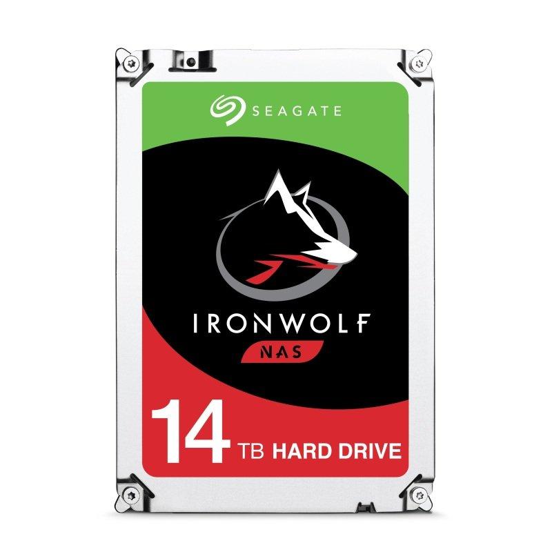 "Seagate IronWolf 14TB NAS Hard Drive 3.5"" SATA III 6GB's 7200RPM 256MB Cache"