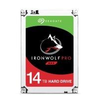 "Seagate IronWolf Pro 14TB NAS Hard Drive 3.5"" SATA III 6GB's 7200RPM 256MB Cache"