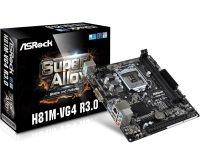 ASRock H81M-VG4 R3.0 1150 DDR3 mATX Motherboard