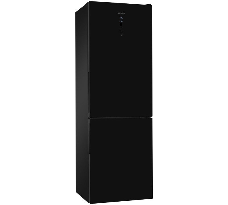 Amica Frost-Free Fridge Freezer 60cm width Black