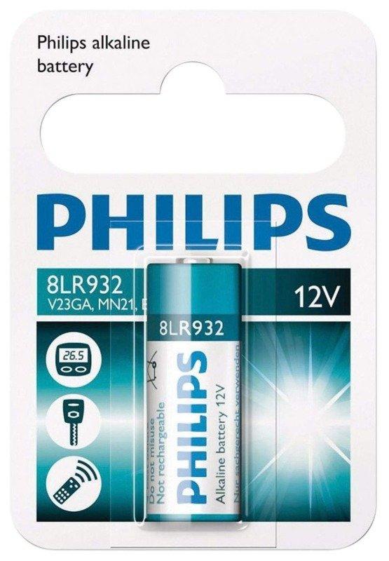 Philips Alkaline 23a 12v Battery - Pack of 1